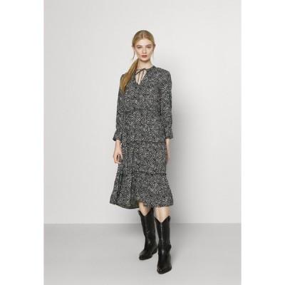 ヴェロモーダ ワンピース レディース トップス VMFELICITY 7/8 CALF DRESS  - Day dress - black