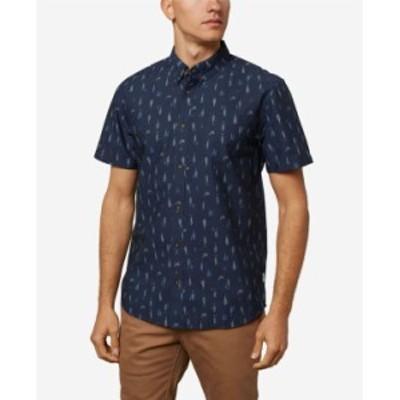 オニール メンズ シャツ トップス Men's Grotto Shirt Navy