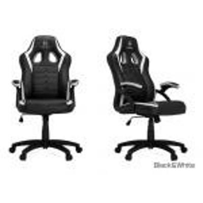 【新品/取寄品/代引不可】HHGears SM-115 Gaming Chair Black&White SM115-BW