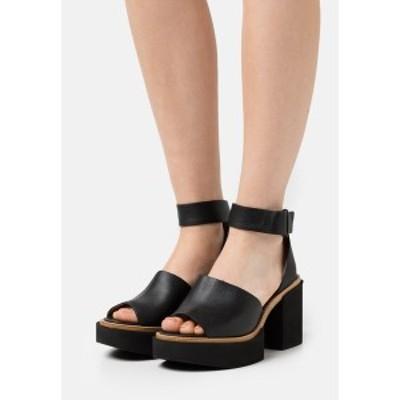 パロマ バルセロ レディース サンダル シューズ JAMANXIM - Platform sandals - black black