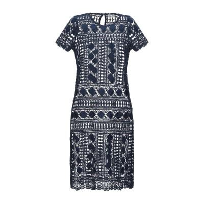 リュー ジョー LIU •JO ミニワンピース&ドレス ブルー 40 ポリエステル 100% ミニワンピース&ドレス