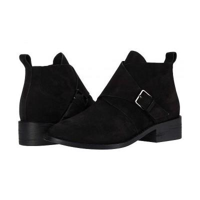 Eileen Fisher アイリーンフィッシャー レディース 女性用 シューズ 靴 ブーツ アンクル ショートブーツ Savoy - Black Nubuck
