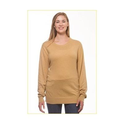 Merona レディース 長袖 クルーネックセーター US サイズ: Large カラー: ゴールド