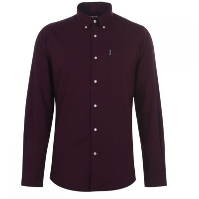 バブアー Barbour Lifestyle メンズ シャツ トップス Barbour Aviemore Shirt Merlot