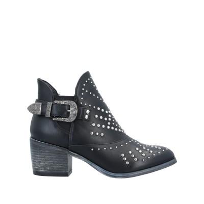 SEXY WOMAN ショートブーツ ブラック 39 紡績繊維 ショートブーツ