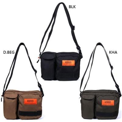 ユニバーサルオーバーオール メンズ レディース 2アウトポケットショルダーバッグ 肩掛け 鞄 9.7インチタブレット収納 UVO-056