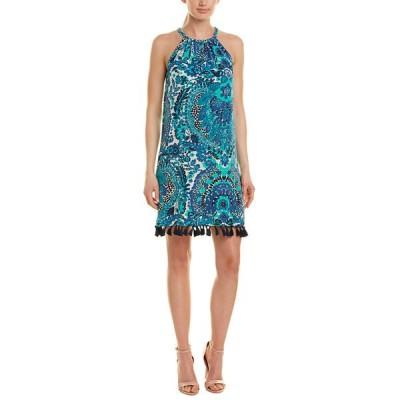 トリーナターク ワンピース トップス レディース Trina Turk Rancho 3 Silk Shift Dress sapphire