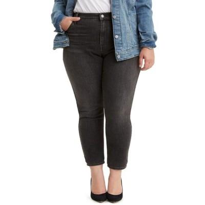 リーバイス デニムパンツ ボトムス レディース Trendy Plus Size 721 High-Rise Skinny Jeans Steady Rock
