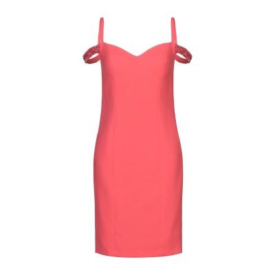 LOVETOLOVE® ミニワンピース&ドレス コーラル 42 ポリエステル 100% ミニワンピース&ドレス