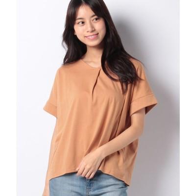 koe スキッパーTシャツ(オレンジ)【返品不可商品】