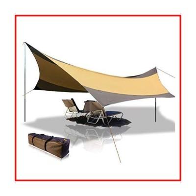 BaiYouDa テント 2人用 キャンピングテント 防水 キャリーバッグ付き キャンプ/ハイキング/バックパッキン