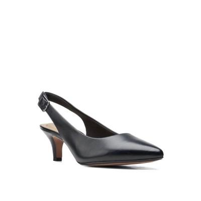 クラークス パンプス シューズ レディース Collection Women's Linvale Sondra Pumps Black Leather