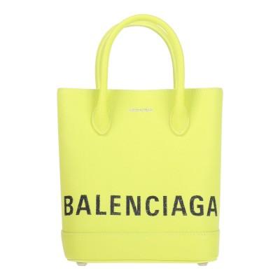 バレンシアガ BALENCIAGA ハンドバッグ イエロー 牛革(カーフ) ハンドバッグ