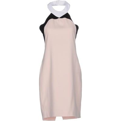 CRISTINAEFFE ミニワンピース&ドレス ライトピンク 40 ポリエステル 100% ミニワンピース&ドレス