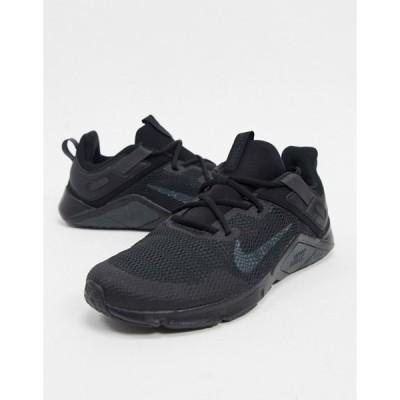 ナイキ メンズ スニーカー シューズ Nike Training Legend Essential sneakers in black