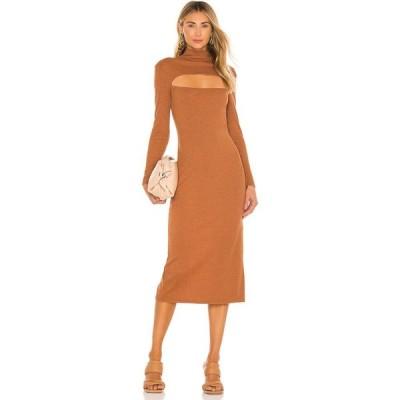 エヌビーディー NBD レディース ワンピース ミドル丈 ワンピース・ドレス Tahoe Midi Dress Terracotta
