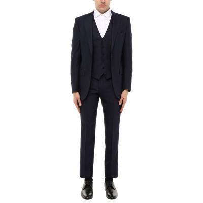 LUBIAM スーツ ダークブルー 46 バージンウール 100% スーツ