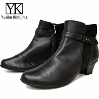 ユキコ キミジマ Yukiko Kimijima ショートブーツ ブーティー レディース 本革 レザー 新作 7751 (予約)は3~5営業日後の出荷です。