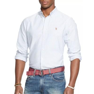 ラルフローレン シャツ メンズ トップス Polo Ralph Lauren Striped Oxford Shirt, Blue/White