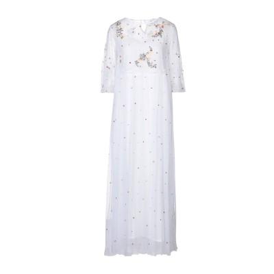 ANTIK BATIK ロングワンピース&ドレス ホワイト 36 ナイロン 100% ロングワンピース&ドレス