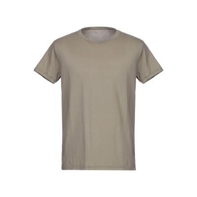 ケアレーベル CARE LABEL T シャツ カーキ S 100% コットン T シャツ