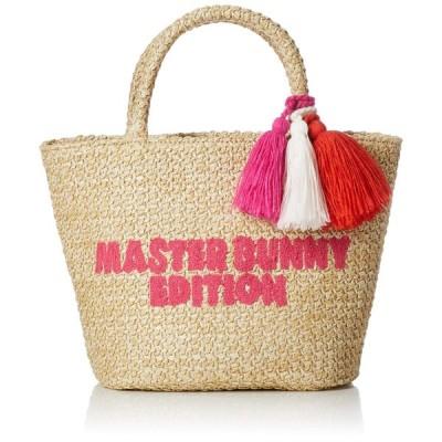 [マスターバニー] カートバッグ 編み込み 158-9281602 090_ピンク