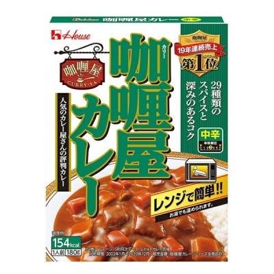 ハウス カリー屋カレー中辛 180g×60個入り (1ケース) (KT)