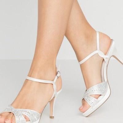 メンブル レディース サンダル High heeled sandals - ivory