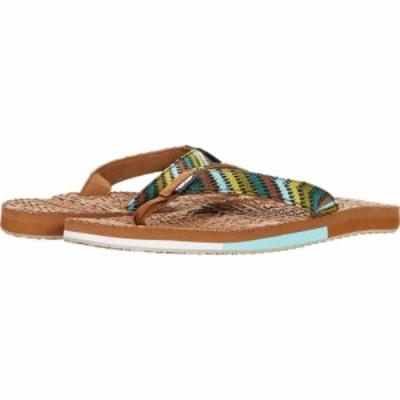 ムクルクス MUK LUKS レディース ビーチサンダル シューズ・靴 Sand Dune Sandal Green Multi