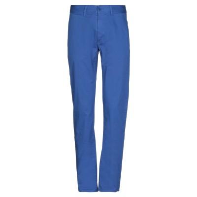 ビッケンバーグ BIKKEMBERGS パンツ ブルー 46 コットン 97% / スパンデックス 3% パンツ