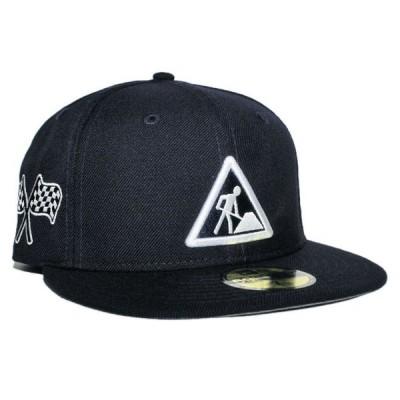ニューエラ デイブ イースト コラボ ベースボールキャップ 帽子 NEW ERA DAVE EAST 59fifty メンズ レディース nv