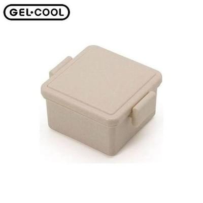 GEL-COOL スクエア S ジェラートプレーン チョコ ジェルクール ランチボックス 弁当箱 三好製作所 CODE:321498