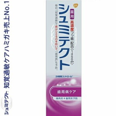 薬用シュミテクト 歯周病ケア 高濃度フッソ配合 22g (医薬部外品) 【 アース製薬 シュミテクト 】 [ オーラルケア デンタルケア 歯みが