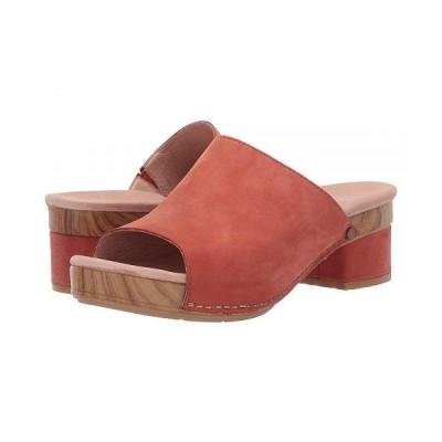 Dansko ダンスコ レディース 女性用 シューズ 靴 ヒール Maci - Coral Milled Nubuck