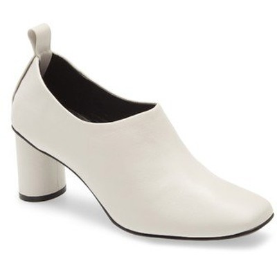ジェフリー キャンベル ブーツ&レインブーツ シューズ レディース Bootie Off White Leather