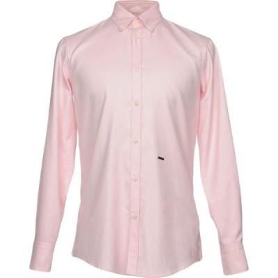 ディースクエアード DSQUARED2 メンズ シャツ トップス solid color shirt Pink