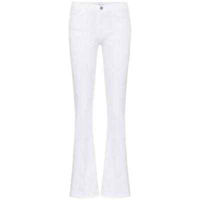 ジェイ ブランド J Brand レディース ジーンズ・デニム ボトムス・パンツ sallie mid-rise flared jeans Blanc