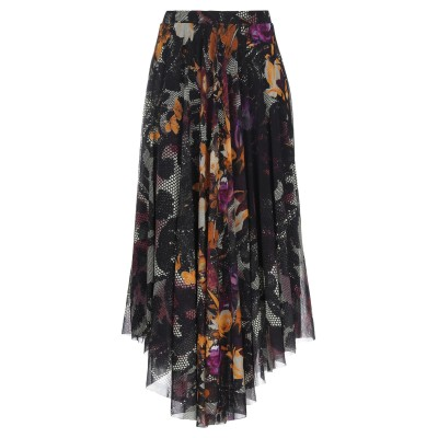 FUZZI 7分丈スカート パープル S ナイロン 100% 7分丈スカート