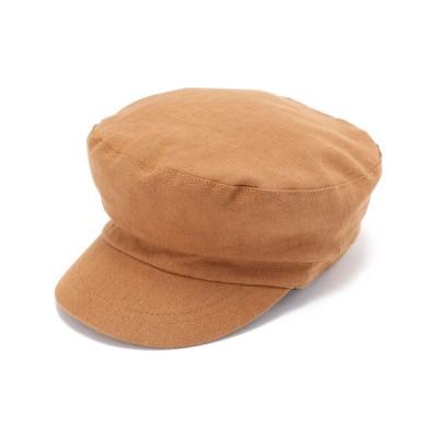 AVIREX / リネンキャスケット/ LINEN CASQUETTE WOMEN 帽子 > キャスケット