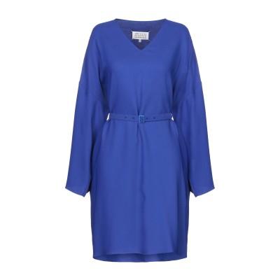 メゾン マルジェラ MAISON MARGIELA ミニワンピース&ドレス ブルー 36 レーヨン 98% / ポリウレタン 2% ミニワンピース&