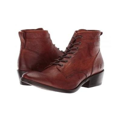 Frye フライ レディース 女性用 シューズ 靴 ブーツ レースアップブーツ Carson Lace Up - Cognac Antique Soft Vintage