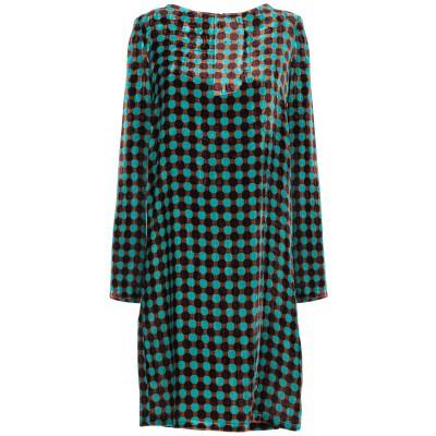 SIYU ミニワンピース&ドレス ターコイズブルー 38 レーヨン 82% / シルク 18% ミニワンピース&ドレス