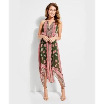 ドレス FLOWER CHILD HANDKERCHIEF DRESS