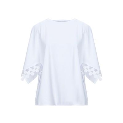 STEFANO MORTARI T シャツ ホワイト 42 コットン 94% / ポリウレタン 6% T シャツ