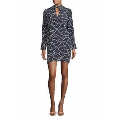 イクイップメント レディース ワンピース Cadence Silk Star Shift Dress