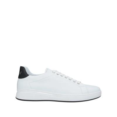 PHILIPP PLEIN スニーカー&テニスシューズ(ローカット) ホワイト 45 革 スニーカー&テニスシューズ(ローカット)