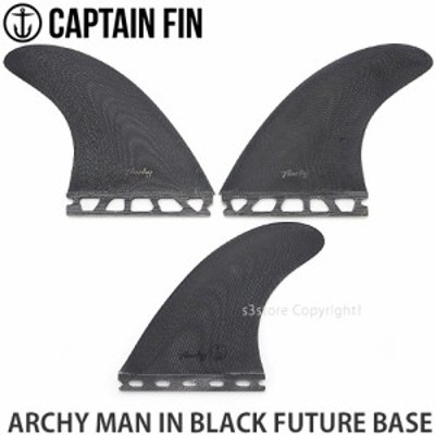 キャプテン フィン ARCHY MAN IN BLACK FUTURE BASE カラー:Black サイズ:Medium(63-85kg)