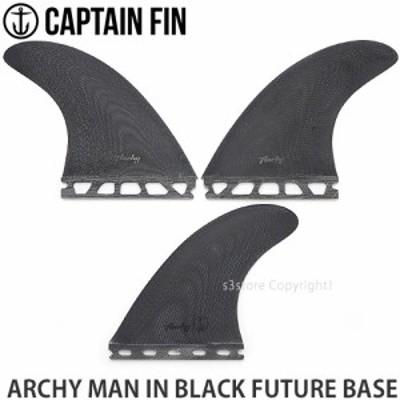 キャプテン フィン ARCHY MAN IN BLACK FUTURE BASE カラー:Black サイズ:Medium(63-85kg)