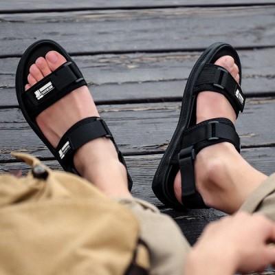 サンダル メンズ ビーチサンダル シューズ 歩きやすい お洒落 ビーチ 海 リゾート 靴 スポーツサンダル 疲れない 大きいサイズ スリッパ 夏サンダル