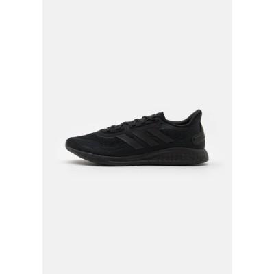 アディダス メンズ スポーツ用品 SUPERNOVA - Neutral running shoes - core black/grey six